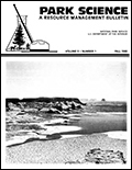 Cover of Park Science 9(1)—Fall 1988