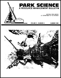 Cover of Park Science 9(4)—Summer 1989