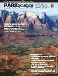 Cover of Park Science 29(2)—Fall-Winter 2012–2013