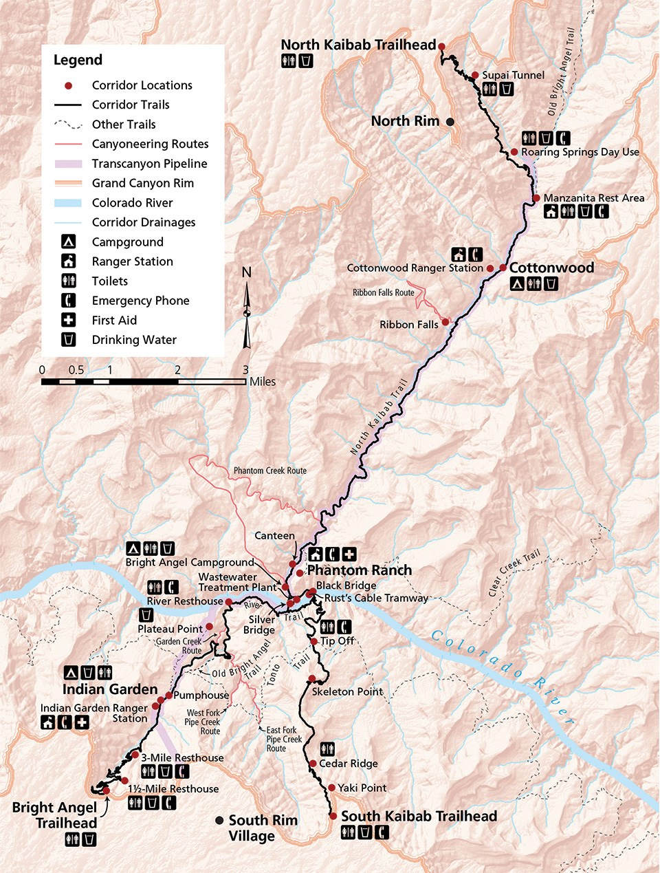 Grand Canyon S Corridor Trail System Linking The Past Present And