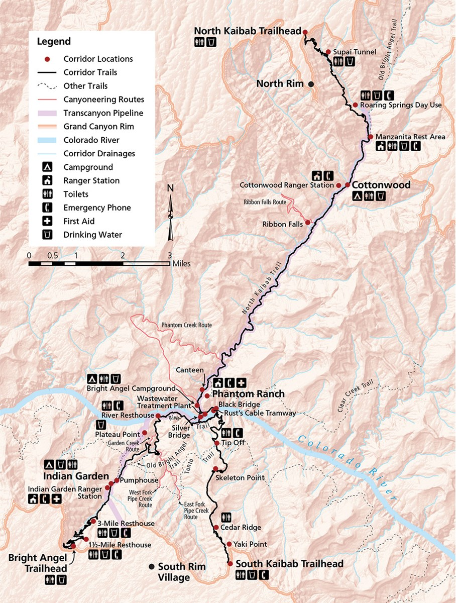 Grand Canyon\'s corridor trail system: Linking the past, present, and ...