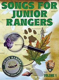 """Songs for Junior Rangers"" CD Cover Image"