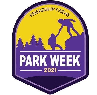 Logo for National Park Service Friendship 2021
