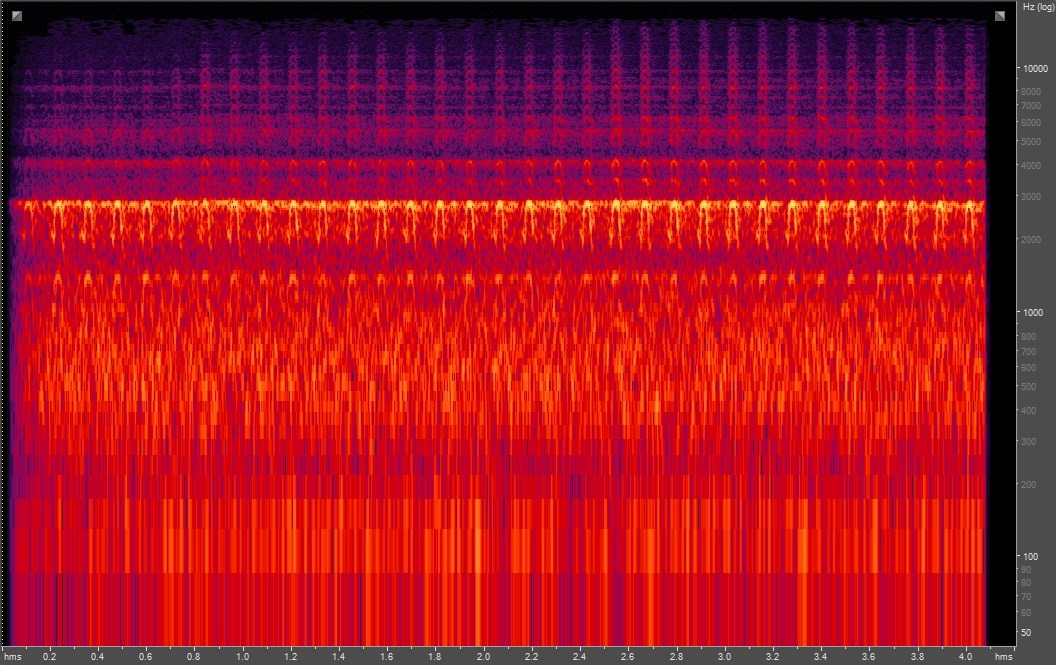 Spectrogram of Northern Flicker