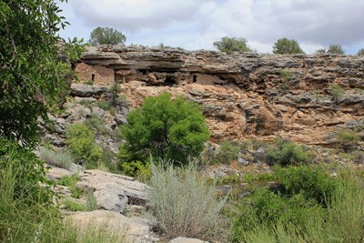 Cliff dwellings at Montezuma Castle National Monument