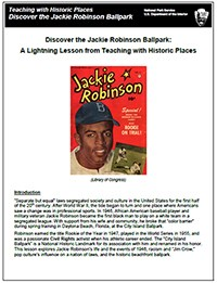 Cover of Jackie Robinson lightning Lesson Plan (twhp)