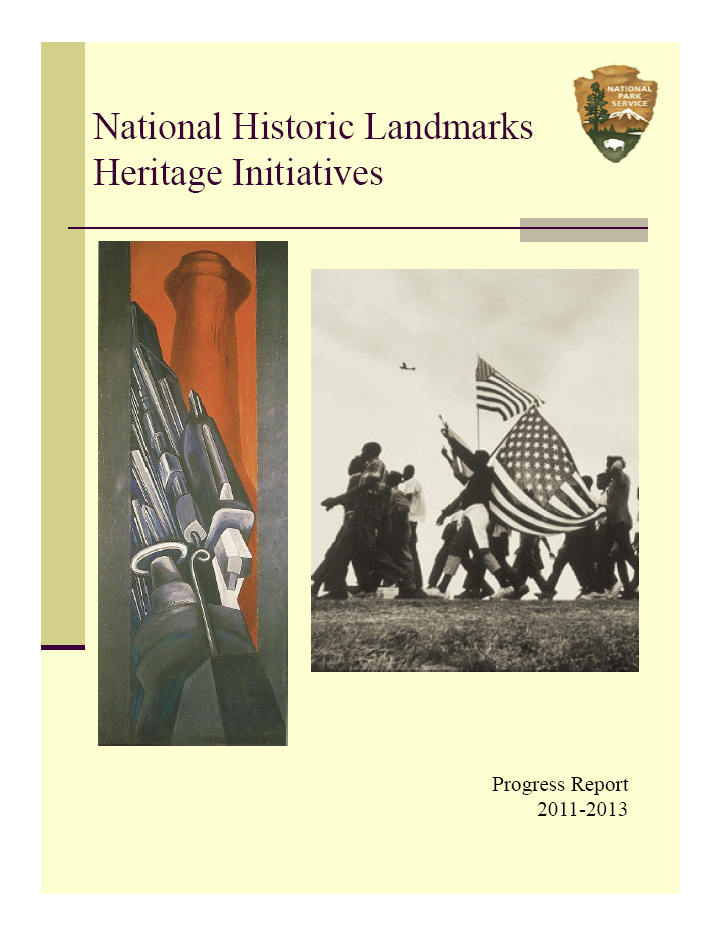 Cover of National Historic Landmarks Heritage Initiatives