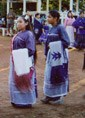 Turkey dance in Binger, Oklahoma, 2000. The Caddo Nation continues to keep its traditions alive today.