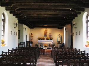 Mission Espada Chapel Interior