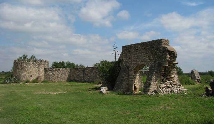 Ruins of Mission Santa Cruz de San Sabá