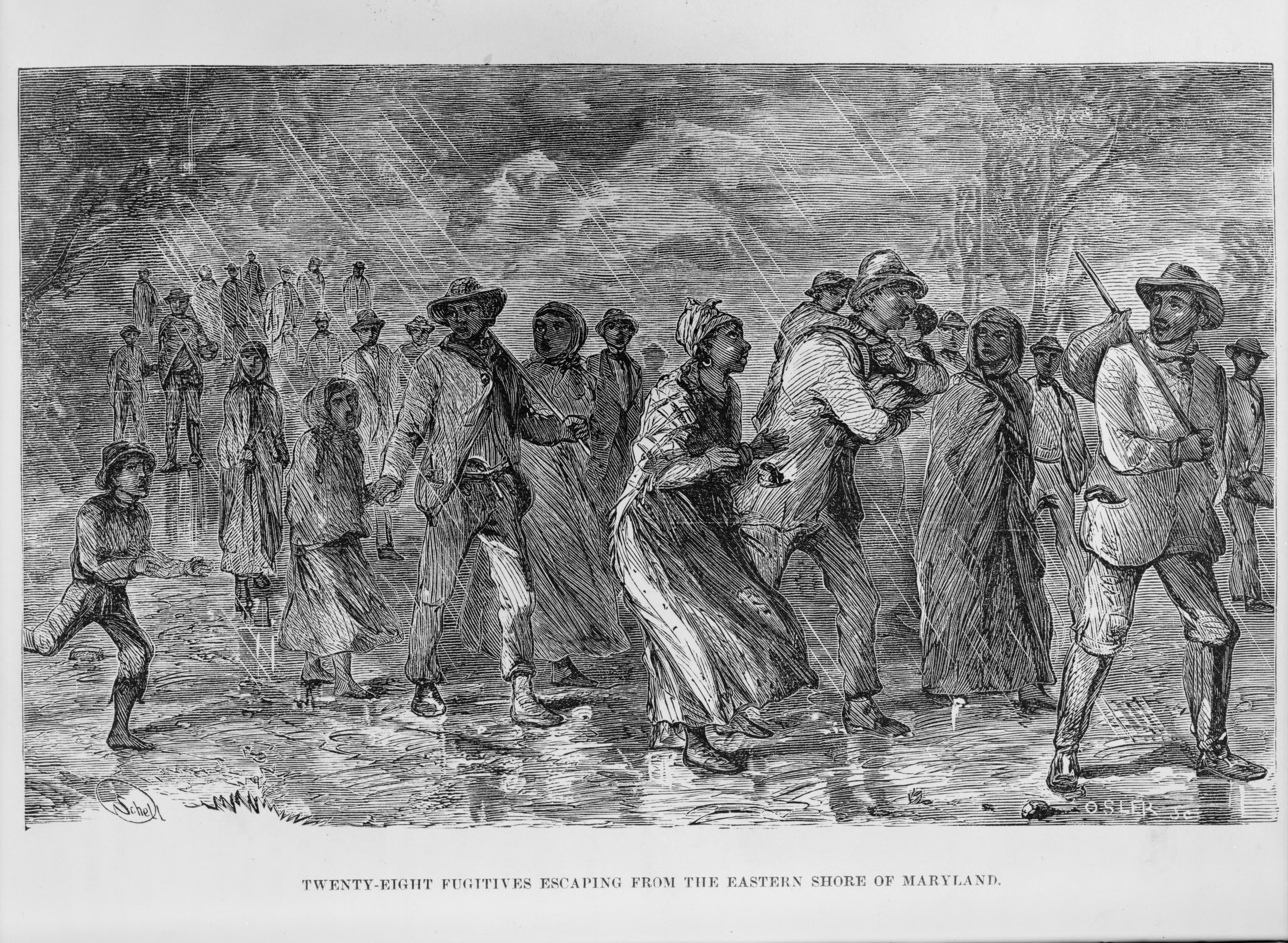 did runaway slaves find thier family