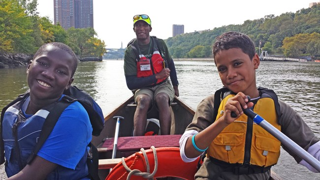 Loving it out on the water, Credit: A.Wendlandt, courtesy Wilderness Inquiry