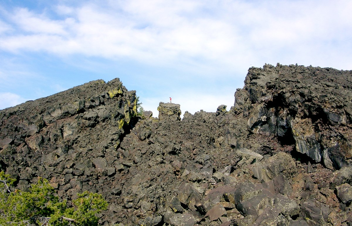 hill of volcanic rock