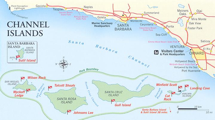 Channel Islands National Park Land Access