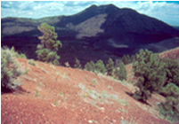 O'Leary Peak, seen from Sunset Crater