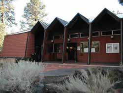 front entrance, Sunset Crater Volcano Visitor Center
