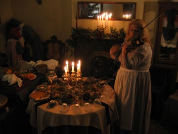Historic Christmas party at the Spring Hill Ranch