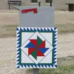 The Preserve's Windmill Quilt Block