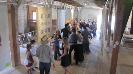 barn dance among the beautiful quilts 2015