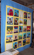 Brown vs. Board of Education NSH Quilt #1