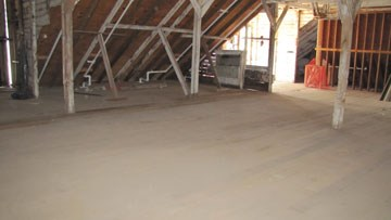 3rd floor of the barn