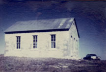 schoolhouse before renovation
