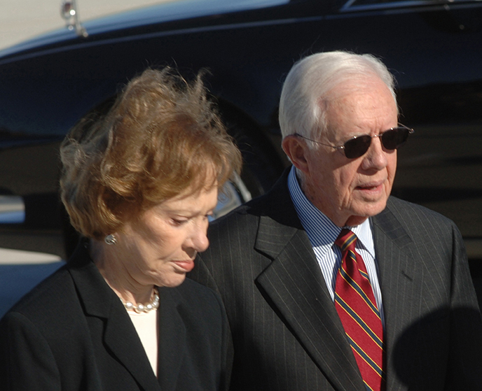 President Jimmy Carter and Rosalyn Carter