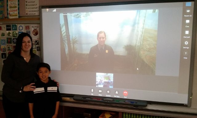 Video Conference with a Ranger