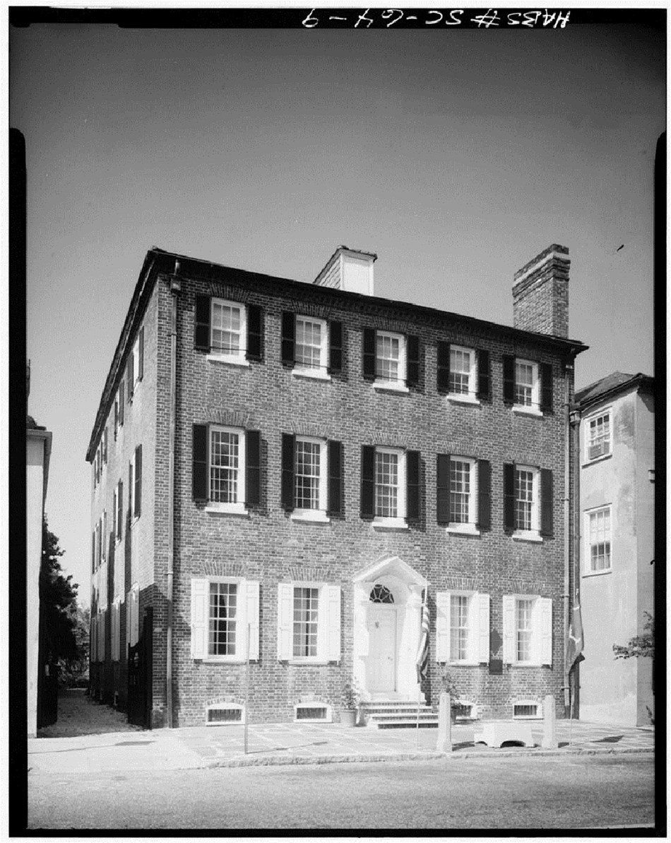 Front of Heyward-Washington House
