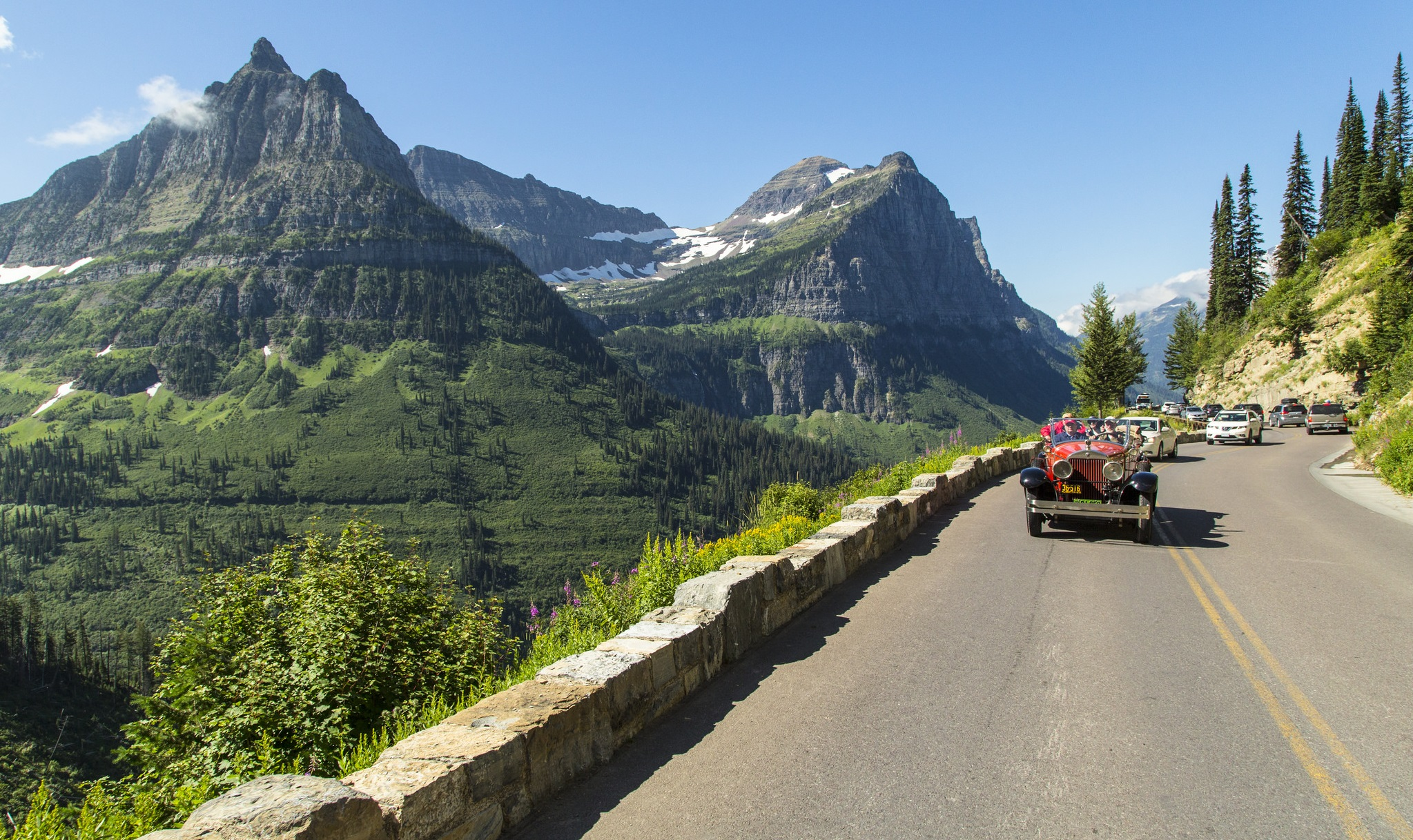Drive Going-to-the-Sun Road (U.S. National Park Service)