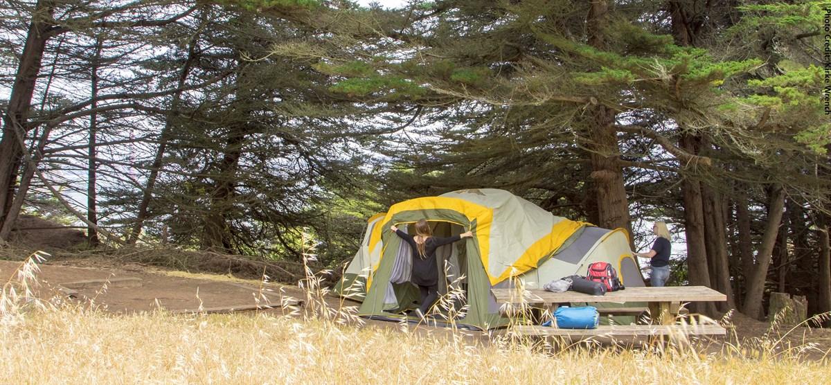 camping - golden gate national recreation area (u.s. national park