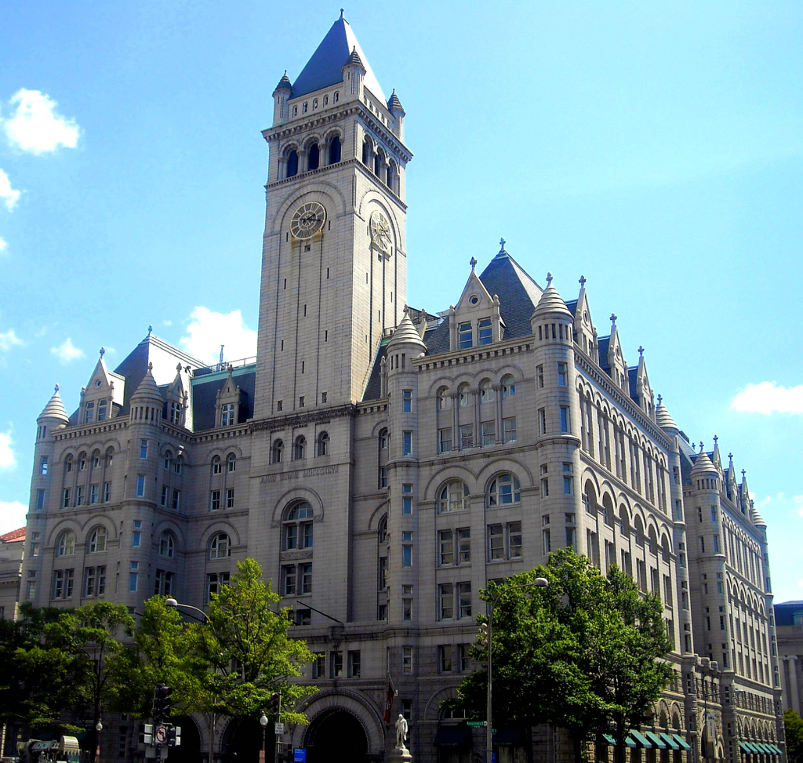 Old Post Office Exterior.