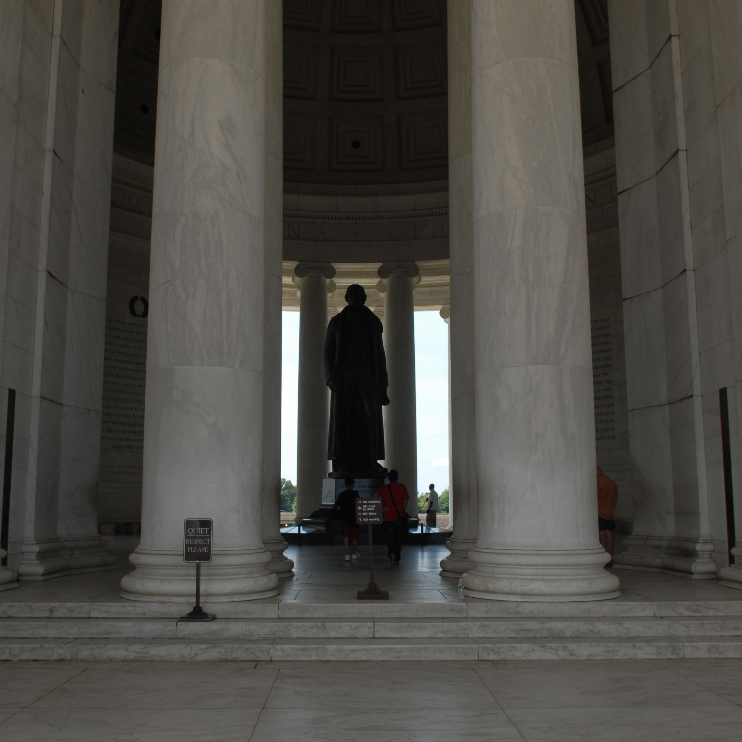 Memorial Features Thomas Jefferson Memorial U S