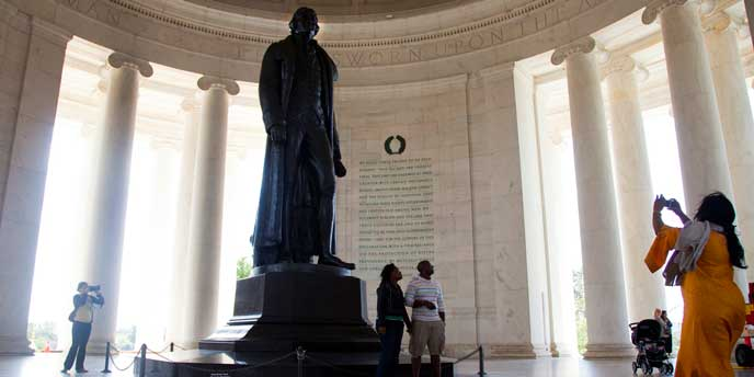 Memorial Features - Thomas Jefferson Memorial (U.S ...