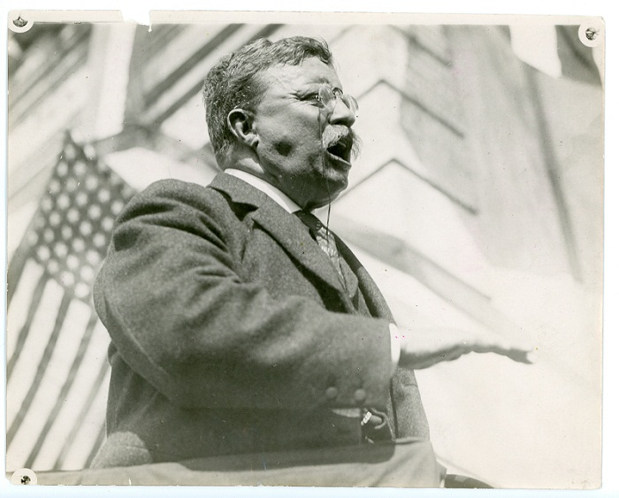 TR Giving A Speech