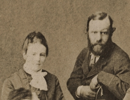Martha and Theodore Sr., circa 1872