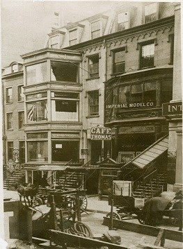 26 and 28 East 20th Street circa 1900