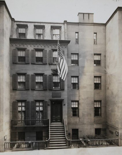 Theodore Roosevelt Birthplace upon its completion in 1923.