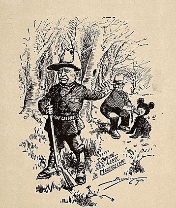 The Story of the Teddy Bear - Theodore Roosevelt Birthplace ...