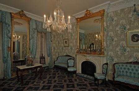 The parlor at Theodore Roosevelt Birthplace