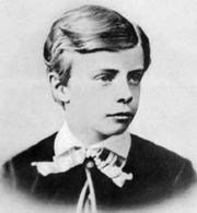 Theodore Roosevelt at age 11.
