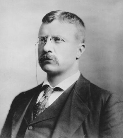 Theodore Roosevelt- Assistant Secretary of the Navy, 1897.