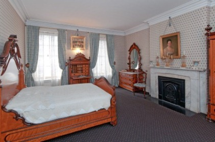 The master bedroom at Theodore Roosevelt Birthplace.