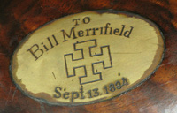 Merrifield rifle engraving