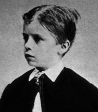 Theodore Roosevelt as a child