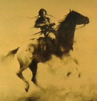 Warrior on Horse