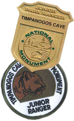 Junior Ranger badge and patch