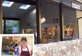 Refreshments and souvenirs complete your visit to Timpanogos Cave.