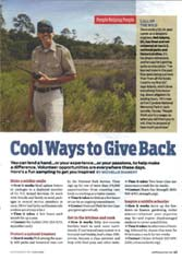 Thumbnail image of AARP article featuring Timucuan Preserve/Fort Caroline NM Volunteer Neil Fink