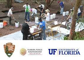 University of Florida archaeology students participated in the 2006 field school at Kingsley Plantation.